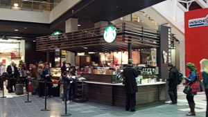 Starbucks at the CNN Center